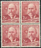 Australia 1949 SG233 2½d Lord John Forrest block MNH