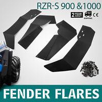 Fit 2015-2018 Polaris RZR-S 900 RZR-S 1000 UTV Fender Flares Mud Flaps