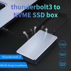 SALE PRICE Acasis Thunderbolt 3 NVME M2 SSD External Aluminum enclosure