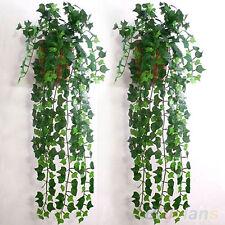 Accueil feuillage vert lierre feuille Fleur artificielle fleur guirlande décor