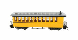 Bachmann-Wood Coach-Observation - Ready to Run - Spectrum(R) -- Bumble Bee - On3