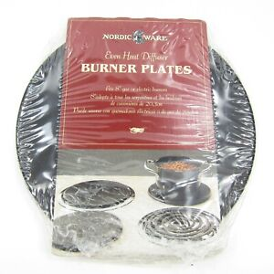 """Nordic Ware Even Heat Diffuser Burner Plate NEW  Fits 8"""" gas or electric burner"""