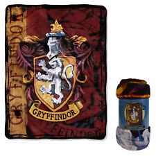 "New Harry Potter Battle Flag Gryffindor Super Soft Large Throw Blanket 48"" X 60"""