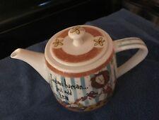 Johnson Brothers Porcelain Teapot & Lid Born to Shop -Instant Human Just Add Tea