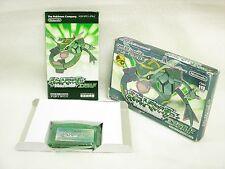 POKEMON EMERALD The BEST Item Ref/bcb Game Boy Advance Nintendo Japan Game gba