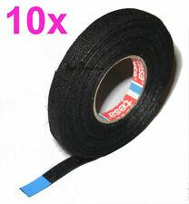 10x TESA 51608 9mm 15m KFZ Gewebeband Textilband Isoband Klebeband Vlies mit DHL