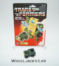Brawn WITH CARDBACK Vintage Hasbro 1984 G1 Transformers Action Figure