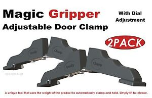 1 PAIR MAGIC GRIPPER DOOR CLAMP BRAND NEW VERSION