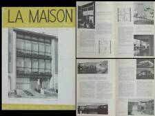 LA MAISON N°11 1954 EUGENE DELATTE, IXELLES, MAISON CECA, WILLY VAN DER MEEREN