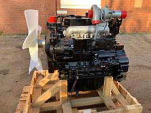Mitsubishi D04FR - NEW - DIESEL ENGINE FOR SALE - 100HP - 2 Liter - 24v - Turbo