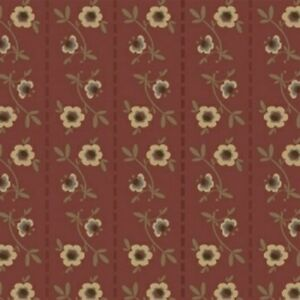 Windham Fabrics Pauline by L'Atelier Perdu 43420 1 Red BTY FREE US SHIPPING
