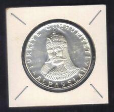 1971 Turkey 50 Lira 900th Anniversary of the Battle of Malazgirt Silver coin UNC