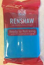 Renshaw decorice Turquesa regalice/sugarpaste/roll fuera Guinda - 250g Pack