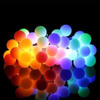 Ball String Light 10M 100 LED Fairy Globe Lamp Halloween Christmas Xmas Lighting