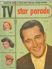 Perry Como Lucille Ball cover TV Star Parade magazine 1953 issue #4