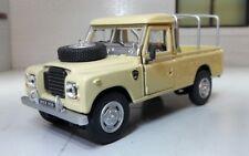 Land Rover Series III 109 Beige 1 43 Cararama