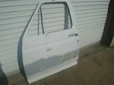 95-97 Ford F-150 250 350 Bronco Front Left Driver Door Shell White OEM