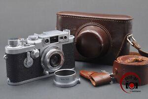 Leica Leitz IIIG mit Elmarf=5cm 1:3,5  FOTO-DF Fotofachhändler // 210150