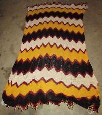 NFL Washington Redskins Handmade Knitted Throw Blanket 42 X 79
