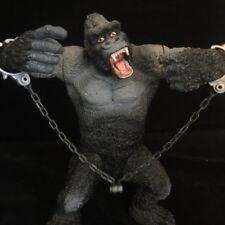 "RARE King Kong 9"" CHAP MEI ACTION FIGURE E CATENE & Effetti sonori GODZILLA nemico"