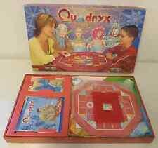 Gioco in Scatola Vintage Vecchio Board Game Italiano 2002 Famosa QUADRYX Ita It