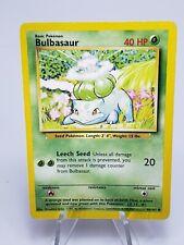Bulbasaur 44/102 Shadowless Base  Pokemon Card
