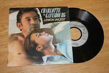 45 tour charlotte & gainsbourg lemon incest hmm hmm hmm philips 8841297 1984 fr