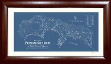 Plan Of Proposed Golf Links at Pebble Beach, Ca - Gift