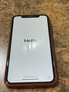 Apple iPhone XR Red - 64GB - (T-Mobile) Slightly Used