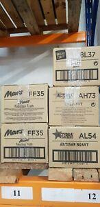 Whole box of Flavia drinks sachets - past BBE. AH73 Hazelnut, BL37 Lemon Herbal