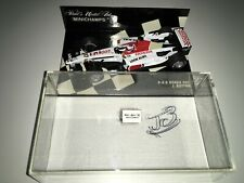 1:43 Minichamps Jenson Button BAR 005 2003 - Signed with COA