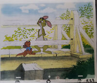 Disney Winnie the Pooh- Rabbit Original Production Cel