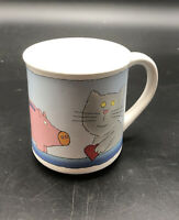 """Vintage 1983 Wallace Berrie Coffee Mug """"I'll Always Save My Heart For You"""" #4336"""