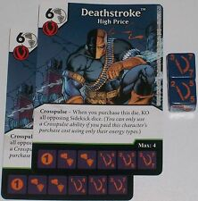 2 x DEATHSTROKE: HIGH PRICE 52 Green Arrow and The Flash Dice Masters
