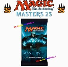 MTG MASTERS 25 BOOSTER SEALED - ENGLISH MTG Magic The Gathering - Pack 15 Cards