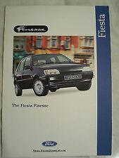 Ford Fiesta Finesse brochure Apr 1995