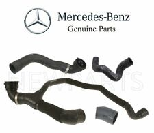Mercedes C215 W220 Upper Lower Radiator Hoses with Water & Heater Hoses Kit OES