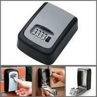 4 Digit Combination Password Key Box Wall Mount Safety Lock Organizer Case cc