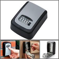4 Digit Combination Password Key Box Wall Mount Safety Lock Organizer Case cc
