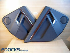 Set Door Card Panel Leather Rear Left Right Sun Vectra C Vauxhall