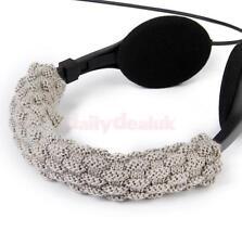 Hand Woven Wool Headband Cushion Pad For AKG K701 K702 Q701 Headphones Gray