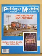 Prototype Modeler 1988 January February Spokane portland & Seatatle Alco Century