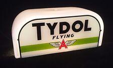 REPRO Shoebox Globe, Green Tydol / Flying A, Gas Pump, Top, Shoe Box, Dome