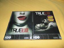 2 COFFRETS 5 DVD TRUE BLOOD SAISON 1 & 2 série américaine HBO NEUF SCELLÉ