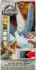"Jurassic World Real Feel Mosasaurus 28"" Action Figure New"