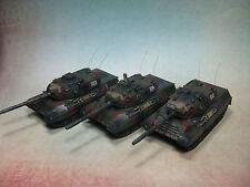 Flames of War: German TEAM YANKEE TGBX03 Leopard I  Zug (3) camo by Cortez