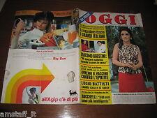 OGGI 1971/18=GINA LOLLOBRIGIDA SUBIACO=LUCIO BATTISTI=NINO MANFREDI=GOGGI L.=