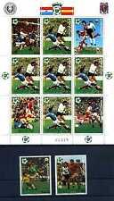 Paraguay 1981 Fußball WM Spanien 1982 ** postfrisch 3432 - 3434 Klb Fehler BR391