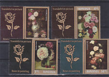 Romania 2013, Roses, paintings, Aman, set + labels 1, MNH