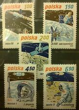 POLAND STAMPS MNH 1Fi2511-15 Sc2365-69 Mi2659-63 - Space Exploration, 1979, **